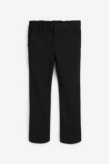 Black Regular Waist Formal Stretch Skinny Trousers (3-17yrs)