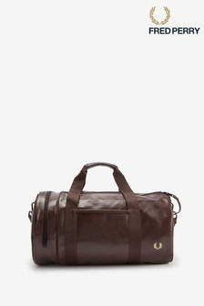Fred Perry Tonal Barrel Bag