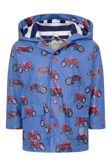 Boys Blue Rain Jacket