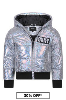 Girls Hooded Quilted Jacket