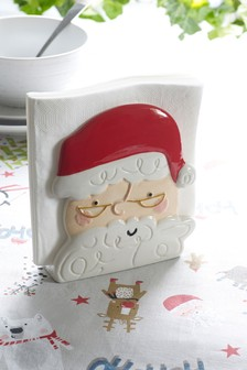 Santa Napkin Holder