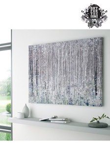 Watercolour Woods Canvas by Art For The Home