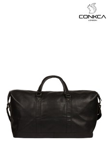 Conkca Gerson Leather Holdall Bag