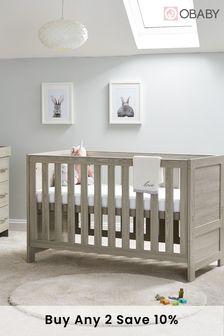 Obaby Nika Grey 3 Piece Furniture