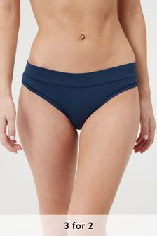 Navy Thong Forever Comfort® Knickers