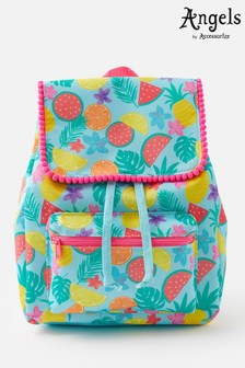 Angels By Accessorize Blue Fruit Backpack