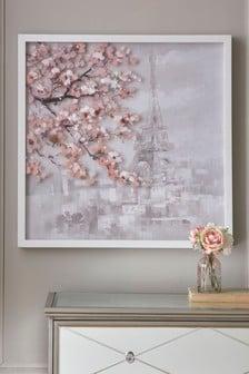 Paris Scene Framed Art