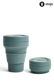 Stojo Green Collapsible Pocket Cup