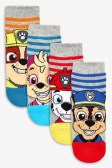 Stripe PAW Patrol Socks Four Pack (Younger)