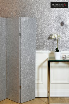 Glitter Silver Screen by Arthouse