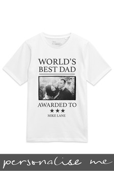 Personalised World's Best Dad T-Shirt