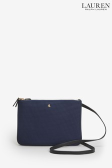 Lauren Ralph Lauren® Navy Nylon Carter Cross Body Bag