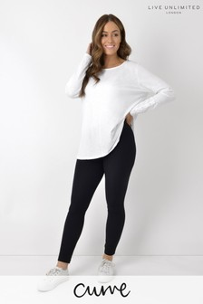 Live Unlimited Curve Black Cotton Leggings