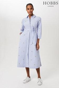 Hobbs Blue Safia Dress