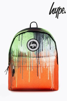 Hype. Green Slime Drips Backpack