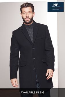 Black Nova Fides Signature Epsom Coat