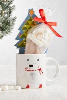 Hot Chocolate Mug Set