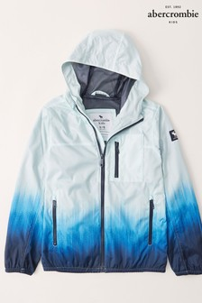 Abercrombie & Fitch Blue Ombre Utility Jacket