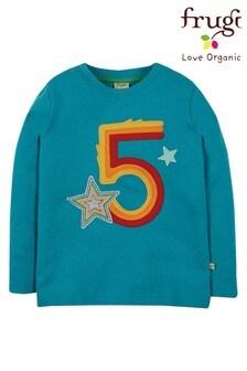 Frugi GOTS Organic 5th Birthday T Shirt