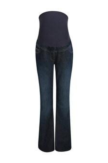 Dark Wash Maternity Boot Cut Jeans