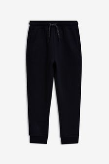 Black Slim Fit Cuffed Joggers (3-16yrs)