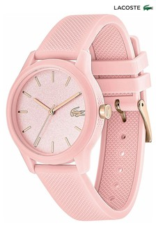 Lacoste.12.12 Pink Silicone Watch
