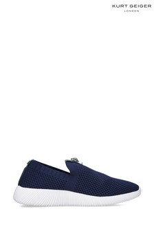 Kurt Geiger London Blue Lorna Trainers
