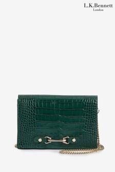L.K.Bennett Melissa Green Shoulder Bag