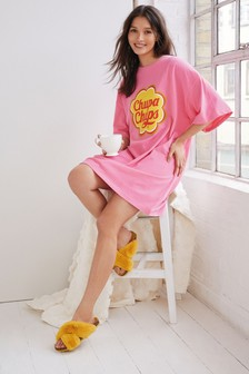 Pink Chupa Chups Cotton Nightie