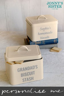 Personalised Treat Stash Tin by Jonny's Sister