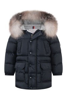 Baby Boys Blue Down Padded Zintro Jacket