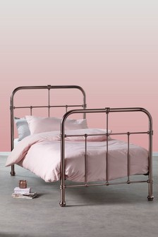 Galexia Pink Metal Bed