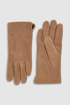 Natural Suede Gloves