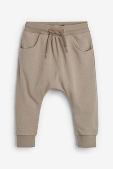 Stone Drop Crotch Joggers (3mths-7yrs)