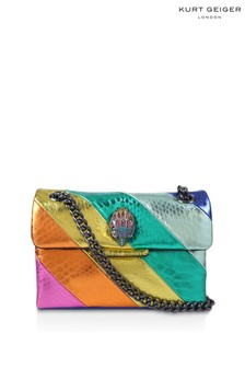 Kurt Geiger London Pink Mini Kensington Cross Body Bag