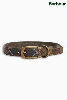 Barbour® Green Tartan Dog Collar
