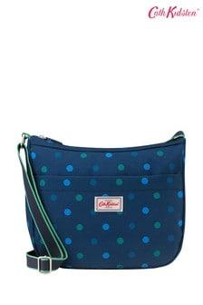 Cath Kidston Power Spot Medium Zip Messenger Bag