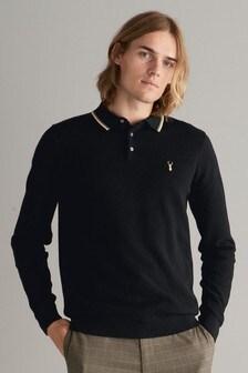 Black   Tipped Polo