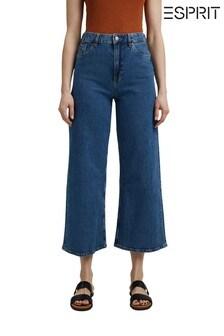 Esprit Blue Wide Leg Denim Jeans