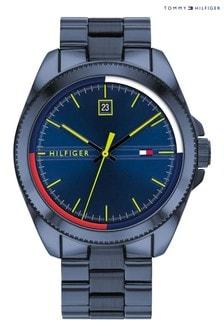 Tommy Hilfiger Watch With Blue IP Bracelet