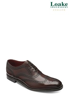Loake Kerridge Leather Brogue Shoes