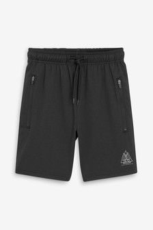 Black Lightweight Shorts (3-16yrs)