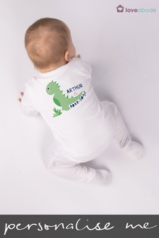 Personalised Roarsome Mum Sleepsuit by Loveabode