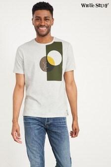 White Stuff Natural Botanical Organic Cotton Graphic T-Shirt