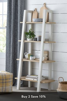 Cream Malvern Ladder Shelf