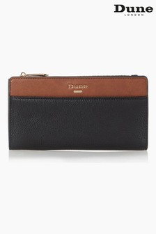 Dune London Tan Kalancie Colourblock Zip Purse