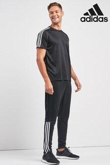 adidas Black Reggie Track Joggers