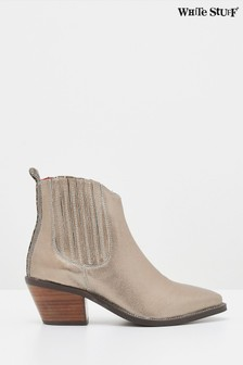 White Stuff Cherry Western Ankle Boots