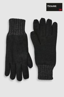 Black Thinsulate™ Gloves
