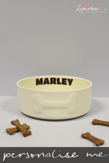 Personalised Large Pet Bowl by Signature PG